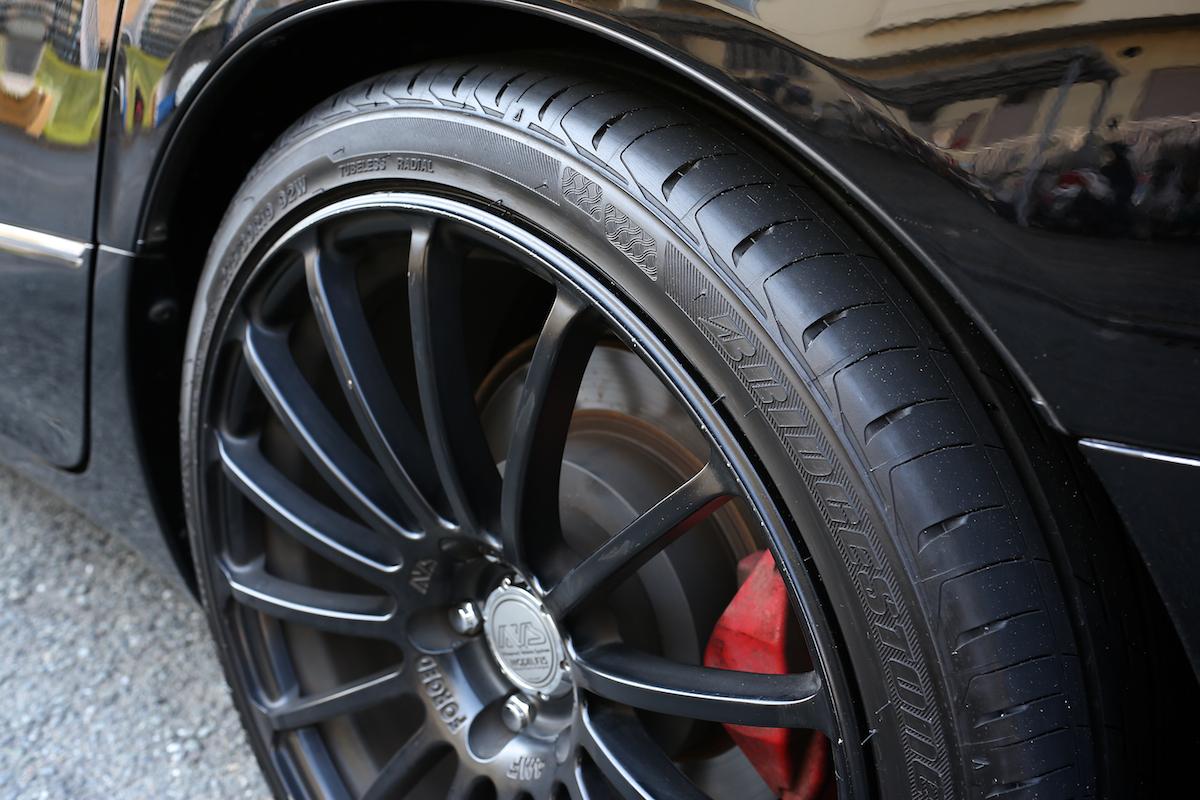 画像2: 命名... [ ND-9 ] !! 昨年来よりご案内をさせて戴いております、ハイブリット・タイヤコーティング・システムの続報をお届けさせて戴きます。写真にございます3台の車に、このこのタイヤコート用の塗料.... www.so-bad-review.com